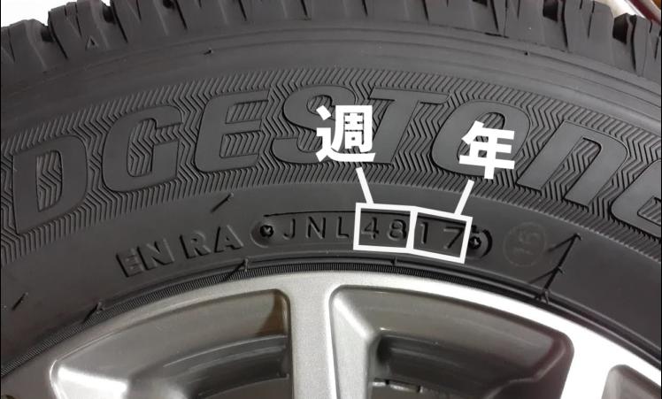 タイヤの製造年